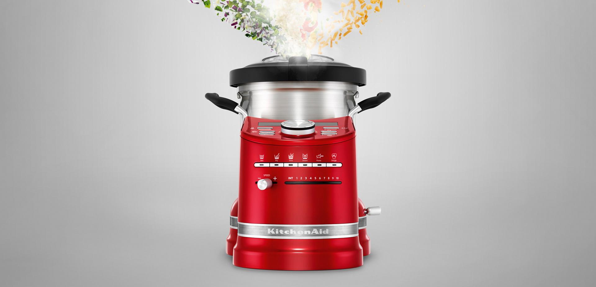 Kitchenaid robot multifunzione artisan bimby rosso for Kitchenaid artisan prezzo